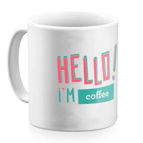 Mug personnalisé HELLO