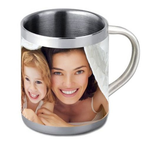 Mug en inox personnalisé photo