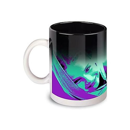 Mug magique imprimé pop art