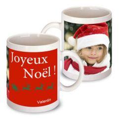 Mug de Noël personnalisé