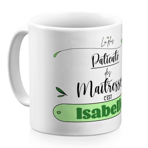 Mug passion personnalisé pour Maîtresse