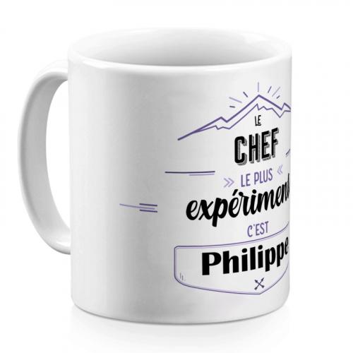 Mug aventure personnalisé Chef