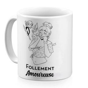 Mug personnalisé Les Caractères