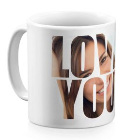 Mug Love You personnalisé