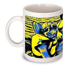Mug personnalisé Pop Art