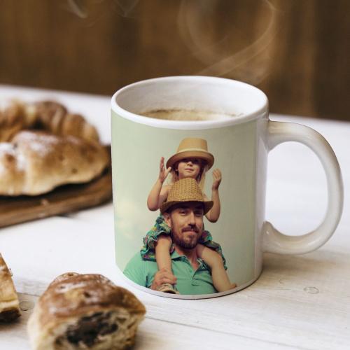 Mug photo petit-déjeuner