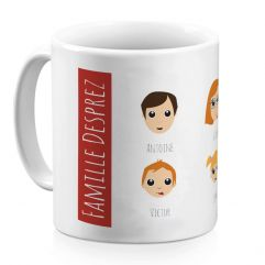 Mug personnalisé We Are Family