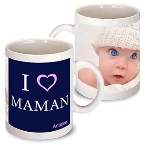 Un mug photo pour maman