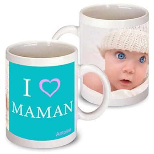 Mug fête des mères personnalisé