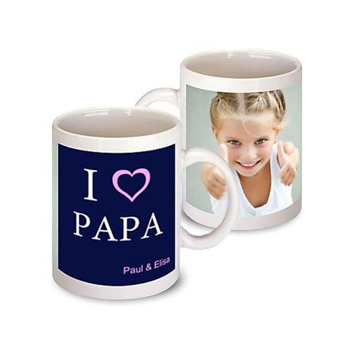 Un mug personnalisé photo pour papa