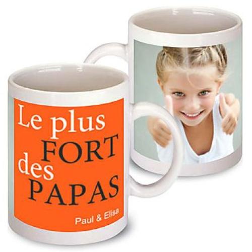 Mug fête des pères personnalisé