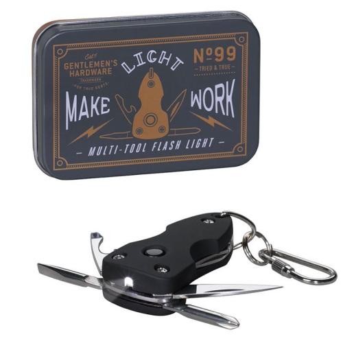 Multi-outils lampe de poche Gentlemen's Hardware