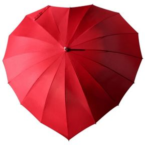 Parapluie coeur personnalisé
