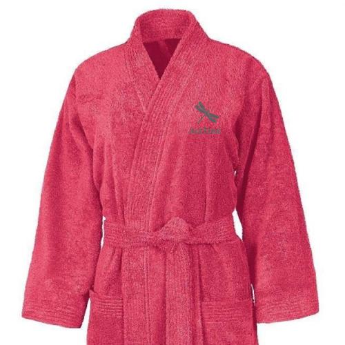 Peignoir kimono brodé prénom pour femme