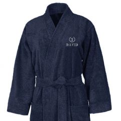 Peignoir Kimono 420gr brodé