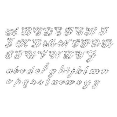 Style police d'écriture pour bijou