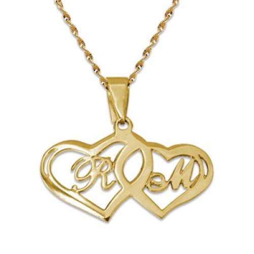 Un collier coeur pour la Saint-Valentin