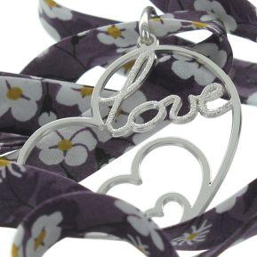 Pendentif coeur Love