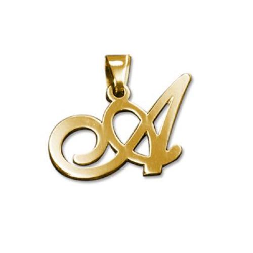 Un collier avec mon initiale