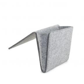 Rangement bord de lit en feutre taille  L