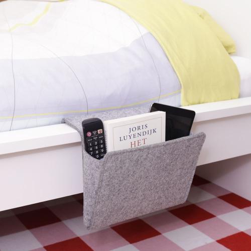 Rangement côté de lit en feutre taille  L
