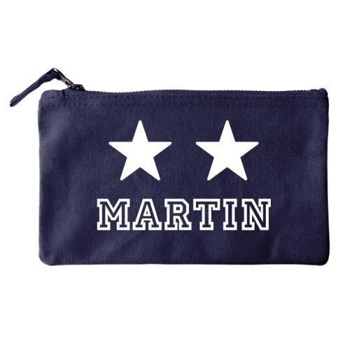 Trousse 2 étoiles marine
