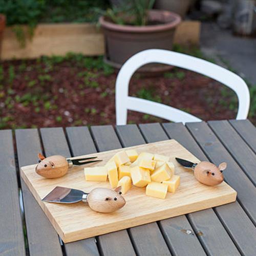 Plateau à fromages petites souris