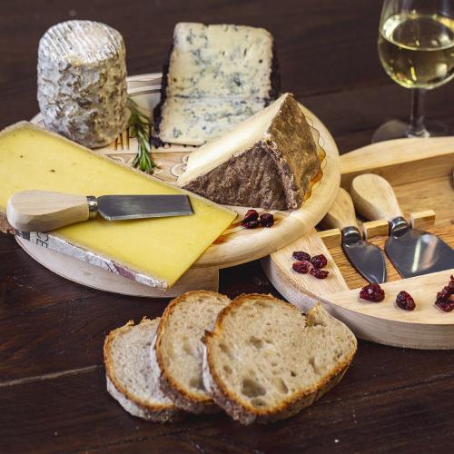 Plateau à fromage pivotant personnalisé