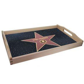 Plateau personnalisé étoile du Walk of Fame