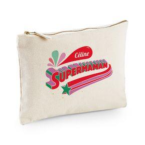 Pochette multi-usage personnalisée Super Maman