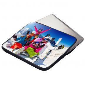Housse matelassée pour ordinateur ou tablette personnalisé photo