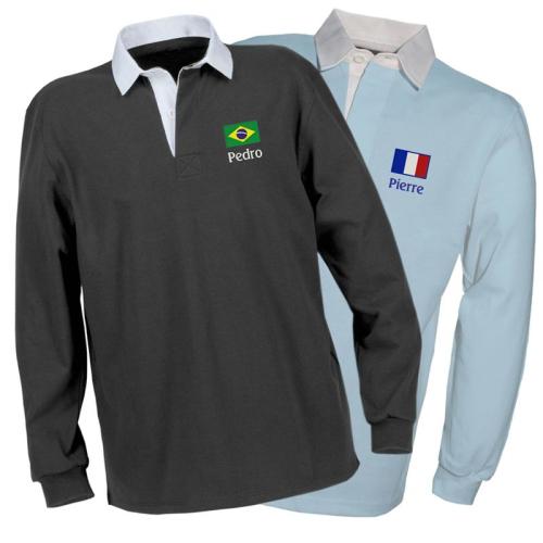 Polo Coupe du monde personnalisé