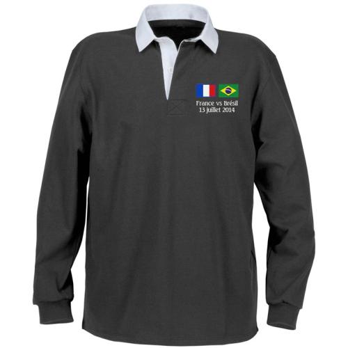 Polo personnalisé France Brésil