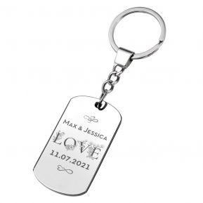 Porte-clés de l'Amour