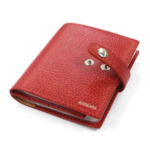 Porte 24 cartes cuir personnalisé