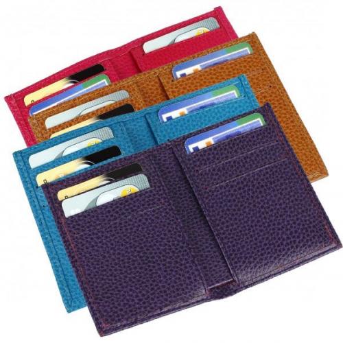 Porte-cartes slim en cuir