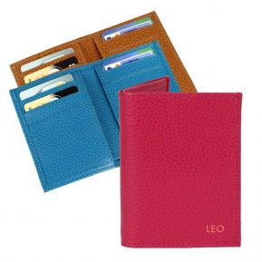 Porte cartes Slim en cuir personnalisé