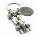 Porte clés formule 1 gravé