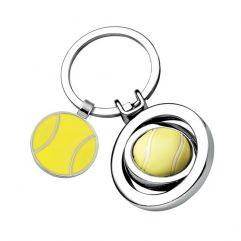 Porte-clés balle de tennis gravé