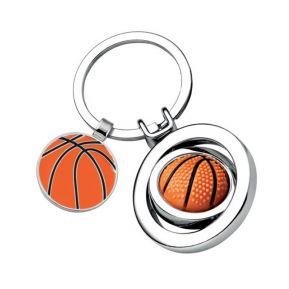 Porte-clés ballon de basket gravé