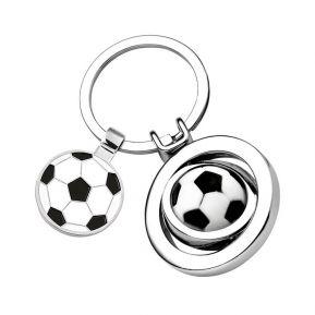 Porte-clés ballon de foot gravé