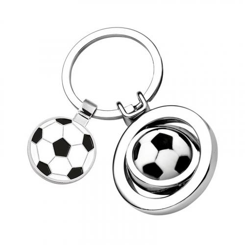 Porte clés ballon de foot gravé