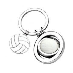 Porte-clés ballon de volley gravé
