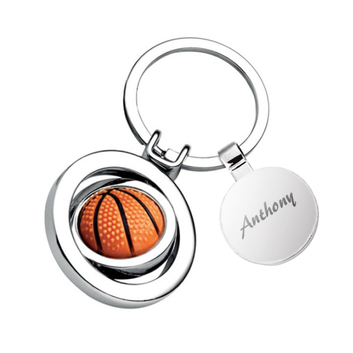 Porte clés basket personnalisé