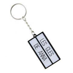 Porte-clés boite lumineuse personnalisable