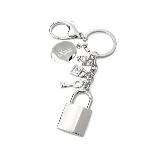 Porte clés breloques personnalisé