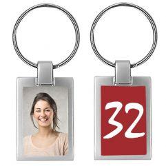 Porte-clés photo anniversaire