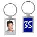 Porte-clés photo anniversaire personnalisé