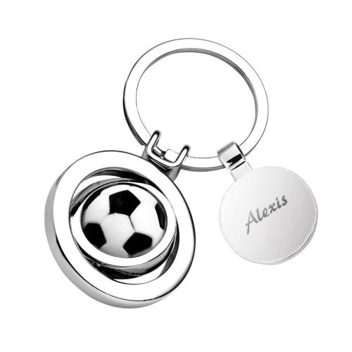 Porte clés ballon de foot personnalisé