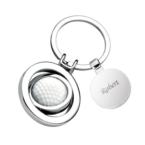 Porte clés balle de golf personnalisé